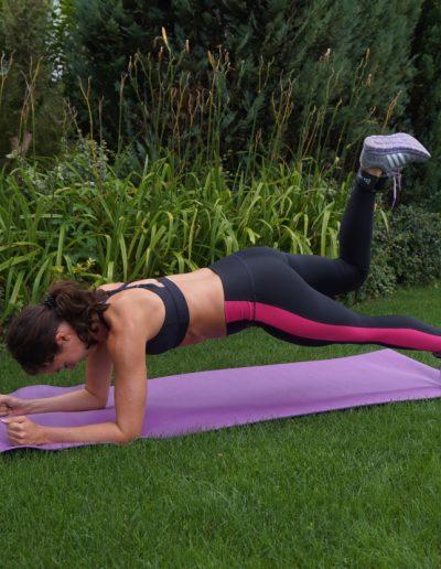Fitnesstraining Kickbacks